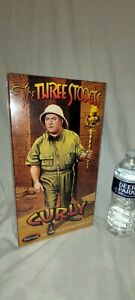 """THE THREE STOOGES """"CURLY"""" All Plastic Assembly Model Kit by POLAR LIGHTS"""