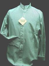 Frontier Classics Old West shirt Cowboy Victorian Edwardian Brown stripe S-Xxxl
