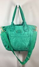 MARC BY MARC JACOBS STANDARD SUPPLY Green Nylon Quilted Tote Crossbody