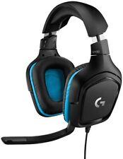 Logitech G432 Gaming-Headset, 7.1 Surround Sound, Kabel, PC/Xbox One/Nintendo