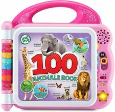 100 Animals Book Learning Tool Educational Toys Gift for Toddlers,Kids,Baby,Girl