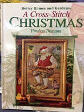 BH&G Timeless Treasures A Cross Stitch Christmas Pattern Book 128pp HB