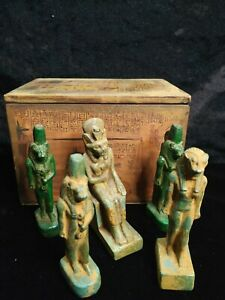 1.The Box of Secrets is a rare piece of ancient Egyptian civilization