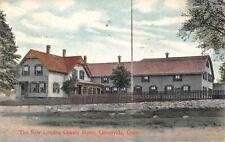 Greenville CT County (Children's?) (Old Folks?) Home Behind Picket Fence c1914