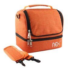 Lunch Bag with Zip Closure Camo Nex Double Decker Cooler Insulated