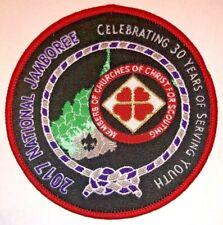 Member Churches of Christ Exhibit Patch 2017 National Boy Scout Jamboree MINT