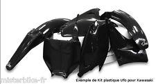 Kit plastiques UFO Kawasaki KX450F 09-11 450 KXF 2009-2011 couleur NOIR