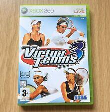 Virtua Tennis 3 XBOX 360 Game UK PAL XBOX360