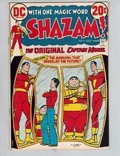 Shazam! #4  Captain Marvel vs IBAC from 1973 VF+ White Cover Mirrors
