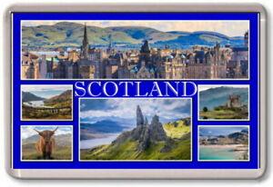 FRIDGE MAGNET - SCOTLAND - Large - Europe UK TOURIST