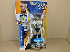 *NEW/SEALED* CM PUNK WWE Superstar Entrances Figure Wal-Mart Exclusive White Tee