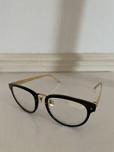 Linda Farrow Optical Black Glasses LFL429C1