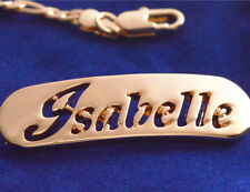 Name Bracelet ISABELLE 18ct Rose Gold Plated Mother's Day Personalised Gift
