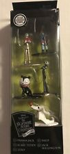 Disney Nightmare Before Christmas 5 Figure Set Die Cast Jack Skellington NIP