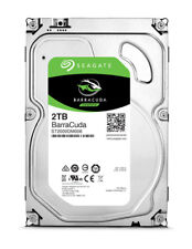 Seagate 2TB BarraCuda SATA 6 Gb/s 7200 RPM 64MB Cache 3.5 Inch Desktop Hard