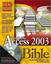 Access 2003 Bible [Paperback] by Prague, Cary N.; Irwin, Michael R.; Reardon,...