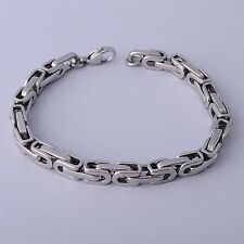 Brand New Stainless Steel Bracelet Bali Chain Never Fade Gift Men Free Shipping