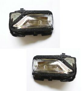 Pair of Side View Mirror Turn Signal Light Lamp for Chevrolet Malibu 16 17 18