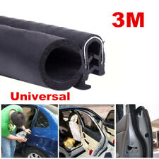 118 inch/3M Car Door Trim Edge Moulding Rubber Weatherstrip Seal Strip Black