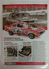 Laminated Brochure Classic Carlectables 1/18 Holden LJ XU-1 Torana 1973 3rd plc
