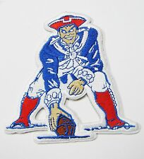 LOT OF (1) NFL NEW ENGLAND PATRIOTS EMBROIDERED PLAYER PATCH IRON-ON ITEM # 36