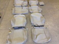 FACTORY CLOTH SEAT COVER COVERS BISQUE TAN 2012 2013 TOYOTA PRIUS V COMPLETE