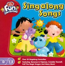 SINGALONG SONGS  CD over 20 singalong / party favs for children 1-2 years +