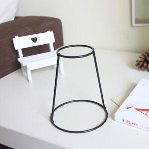 Modern Abstract Iron Metal Holder Nordic Style Black Plant Vase Home Decor GHG63