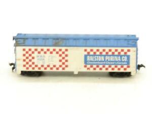 TYCO Trains Ralston Purina Reefer 4554