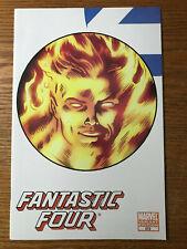 The Fantastic Four #572 Human Torch Variant Marvel Comics 2009 NM Hickman