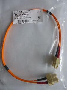 Metz Connect / BTR Patchkabel opDAT SC-D/SC-D 0,5m Orange Neu OVP