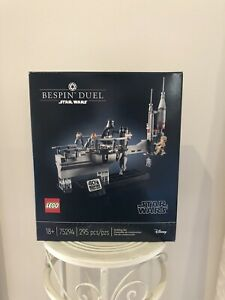 Lego Star WarsExclusive 75294 Bespin Duel Brand New Creased Box