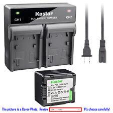 Kastar Battery Rapid Charger for Panasonic CGR-DU14 CGA-DU14 & NV-GS230 NV-GS250