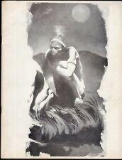 INFINITY FANZINE # 3 MAGAZINE 1970 JEFF JONES BRUCE ROY G KRENKEL PORTFOLIO WOOD