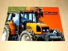 Prospectus Tracteur RENAULT CERES 300 prospekt brohcure traktor tractor Trattore