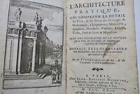 Bullet L'architecture pratique qui comprend le detail... 1722