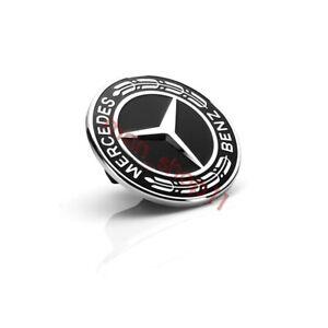 Mercedes Benz AMG Front Hood Emblem Flat Laurel Wreath Badge 57mm A0008171701