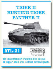 Friulmodel Metal Tracks for 1/35 German Tiger II/Hunting Tiger/Panther II