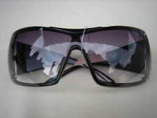 Occhiali da sole da donna con lenti in viola con montatura in nero senza marca