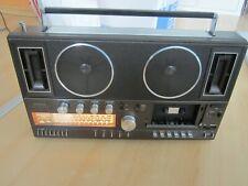 Vintage Kassettenrecorder GRUNDIG RR 2000 / Antenne und Kassettenklappe fehlt