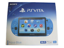 SONY PlayStation Vita Wi-Fi Console PCH-2000 ZA23 Aqua Blue PS Vita New