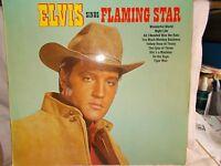 ELVIS PRESLEY - ELVIS SINGS FLAMING STAR -  UK 9 TRK VINYL LP