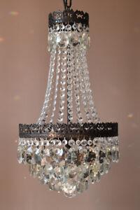 Antique Vintage Crystal Chandelier, Home & Living Light, Ceiling Lighting lamp