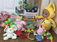 Huge Bundle baby Toys 6 Months + Sensory, Tactile, Rattles, Teether Playmat