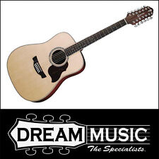 Crafter D8-12EQ/SN 12-String Spruce Top Acoustic/Electric Guitar RRP$1199