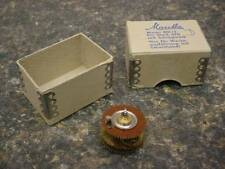 Vintage Mauthe 801/2  Electric Clock Motor Gears for work 470  D054f