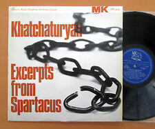 Khachaturian Excerpts From Spartacus Gauk Moscow Radio Symphony MK DO 4042 NM/EX