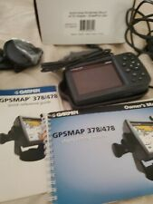 Garmin 478 Gpsmap Marine/Aircraft/Motorcycl e Chartplotter w/Charger/Stand bundle