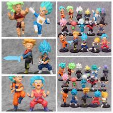 2018 Dragon Ball Z Super Son Goku Vegeta Action Mini Figures Gift Toy 16Pcs/Set