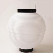 JAPANESE Polyester Chochin Matsuri Festival Lantern JAPAN White 24cm